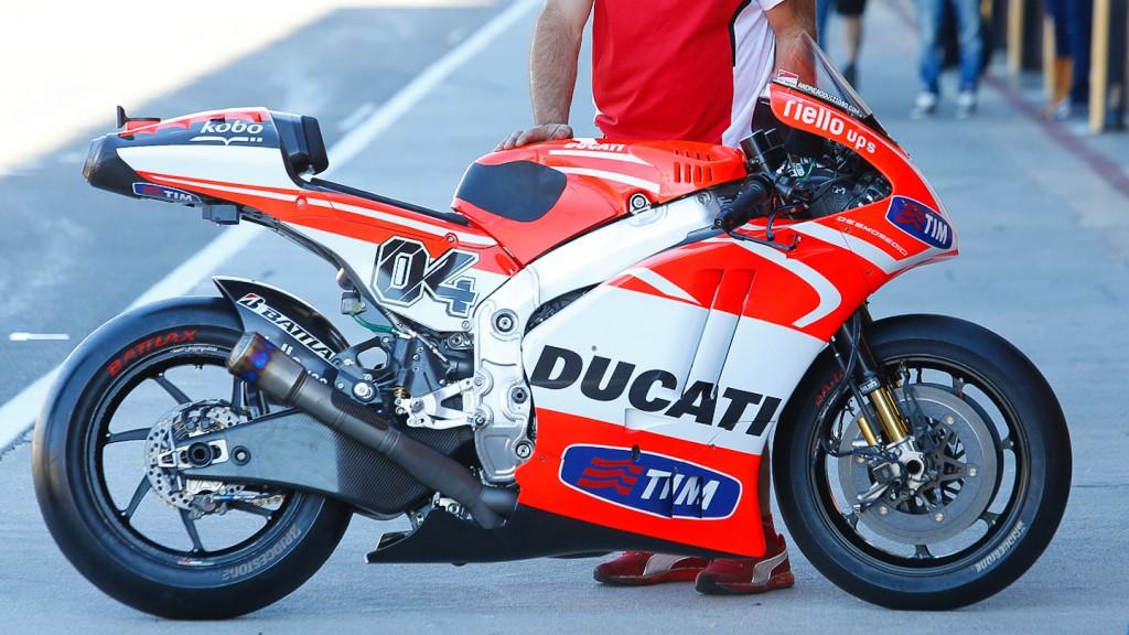 Ducati Desmosedici, Ducati Team - MotoGP Valencia Test