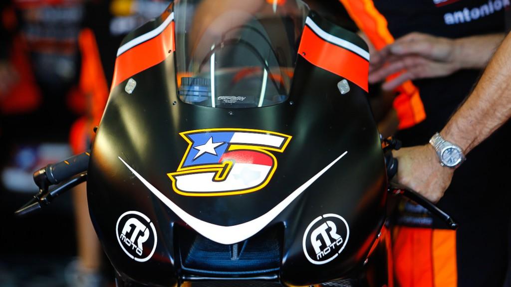 FTR Yamaha, NGM Mobile Forward Racing, MotoGP Valencia Test
