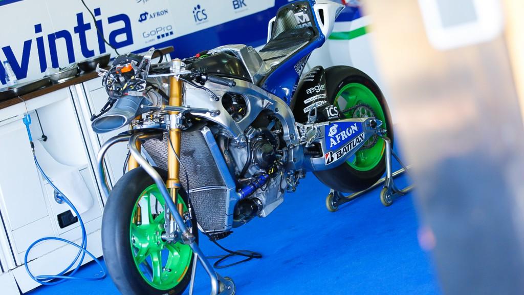FTR, Avintia Blusens, MotoGP Valencia Test