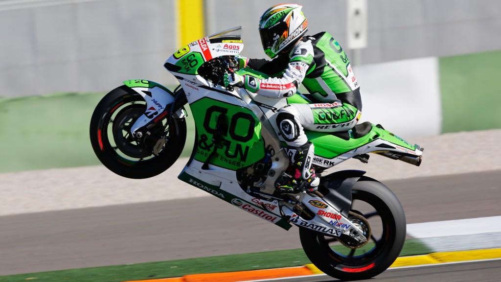 Alvaro Bautista, GO&FUN Honda Gresini, MotoGP Valencia Test