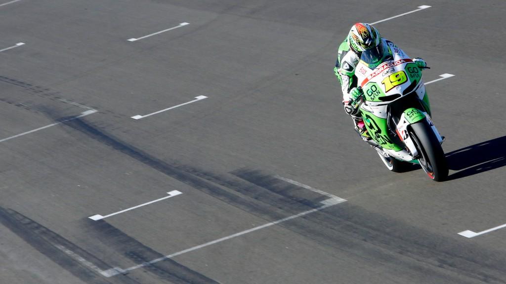 Alvaro Bautista, GO&FUN Honda Gresini, MotoGP Valencia Test Day 2