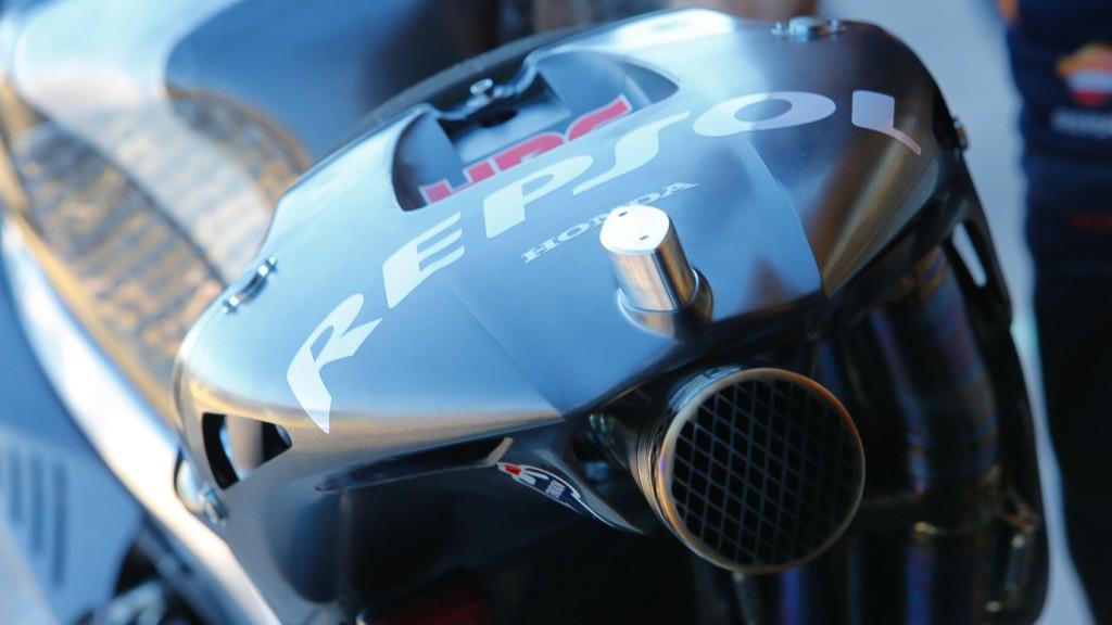 Honda RC213V 2014, Repsol Honda Team - Exhaust