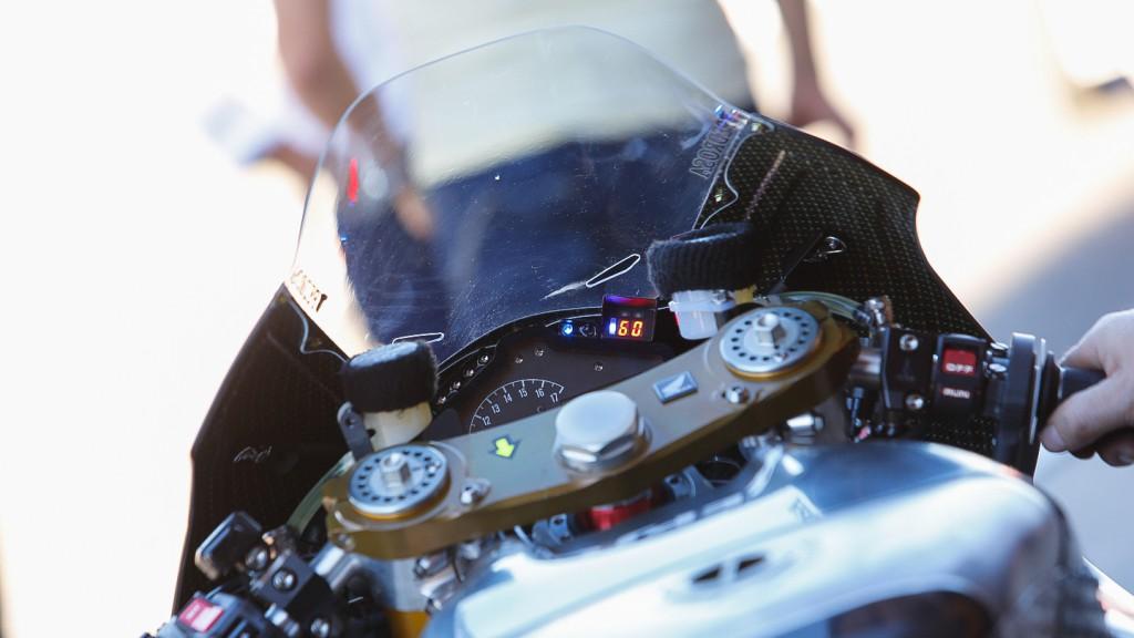 Honda RC213V 2014, Repsol Honda Team - Cockpit