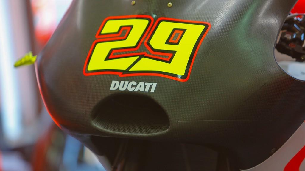 Ducati Desmsedici, Pramac Racing -Airbox Intake