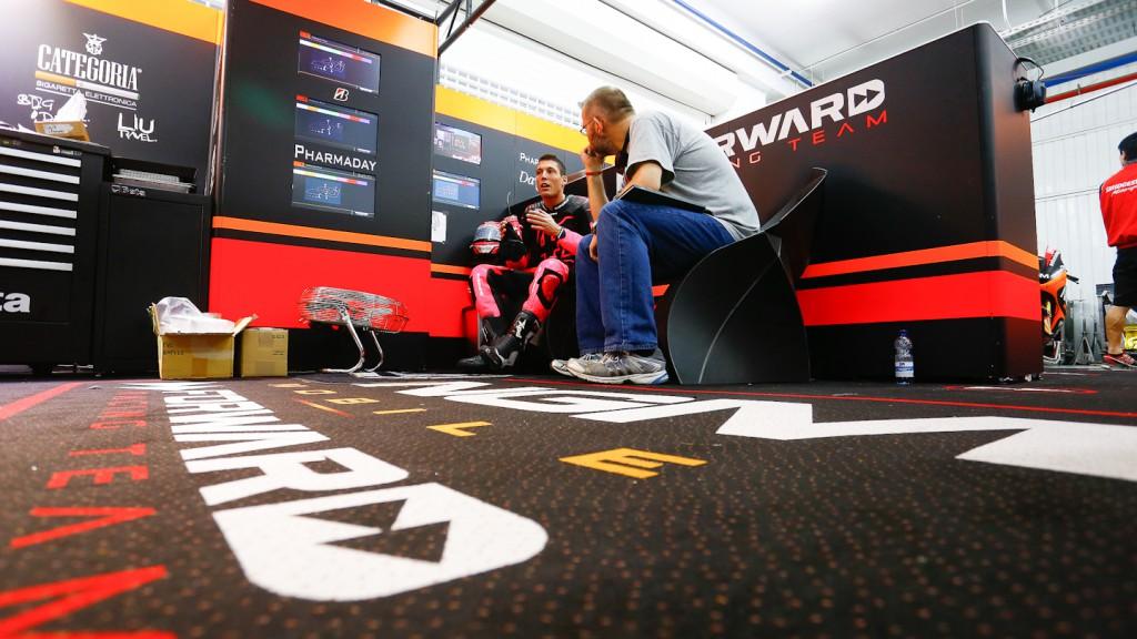 Aleix Espargaro, NGM Mobile Forward Racing, MotoGP Valencia Test Day 2