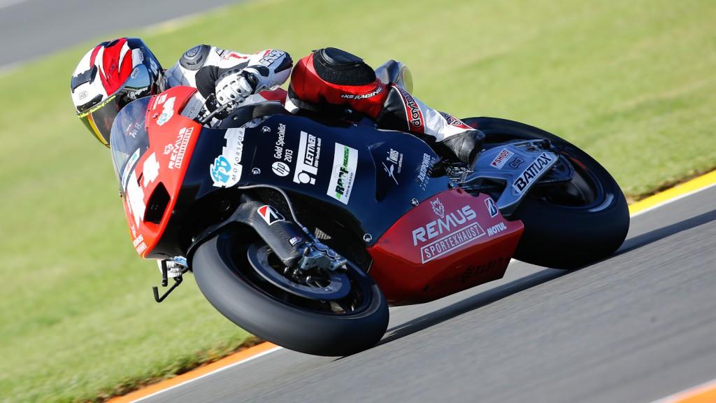 Martin Bauer, Remus Racing Team, MotoGP Valencia Test