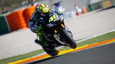 Valentino Rossi, Yamaha Factory Racing, MotoGP Valencia Test