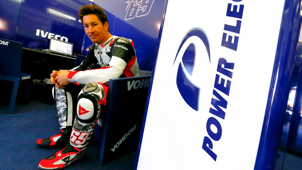 Nicky Hayden, Aspar Team, MotoGP Valencia Test Day 2