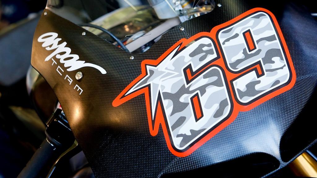 Hayden´s RCV1000R, Power Electronics Aspar, MotoGP Valencia Test Day 1