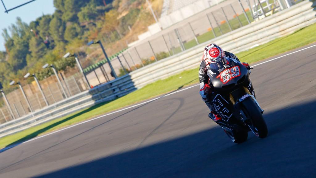 Nicky Hayden, Aspar Team, MotoGP Valencia Test Day 2