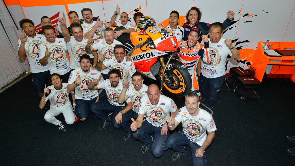2013 MotoGP World Champion Marc Marquez, Valencia RAC