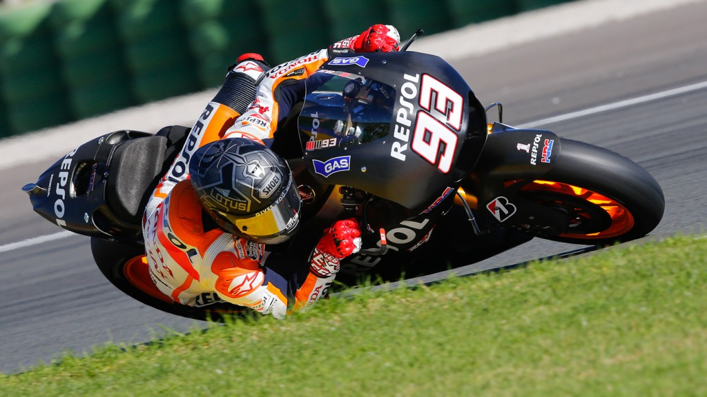 Marc Marquez, Repsol Honda Team, MotoGP Valencia Test Day 2