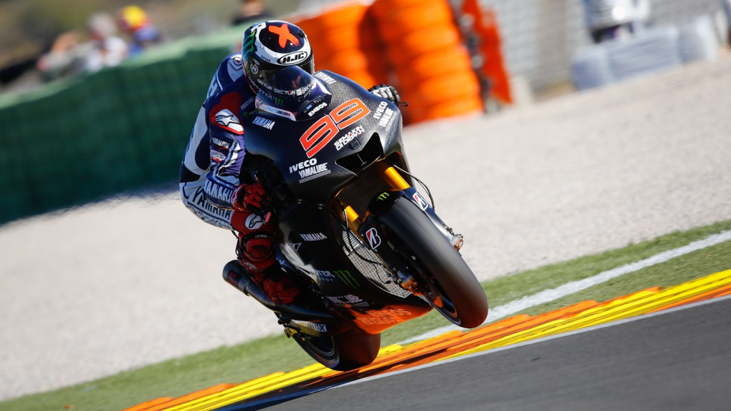 Jorge Lorenzo, Yamaha Factory Racing, MotoGP Valencia Test