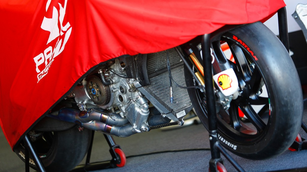 Ducati Desmosedici, Pramac Racing - Engine detail