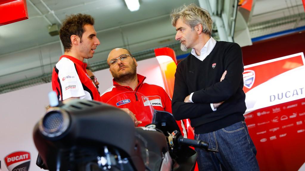 Ducati Corse General Manager Luigi Dall'Igna, MotoGP Valencia Test