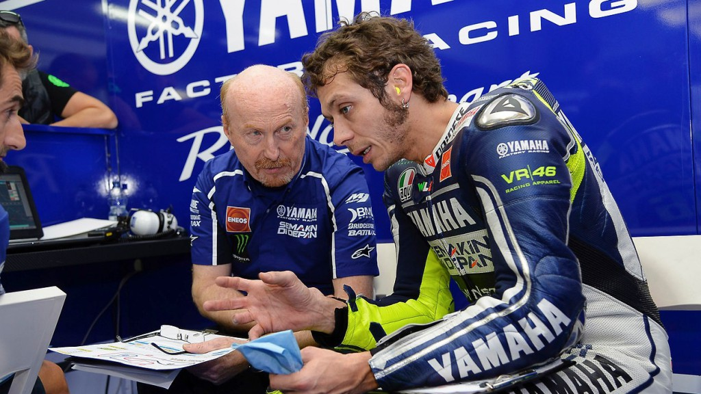 Silvano Galbusera, Valentino Rossi, Yamaha Factory Racing, MotoGP Valencia Test