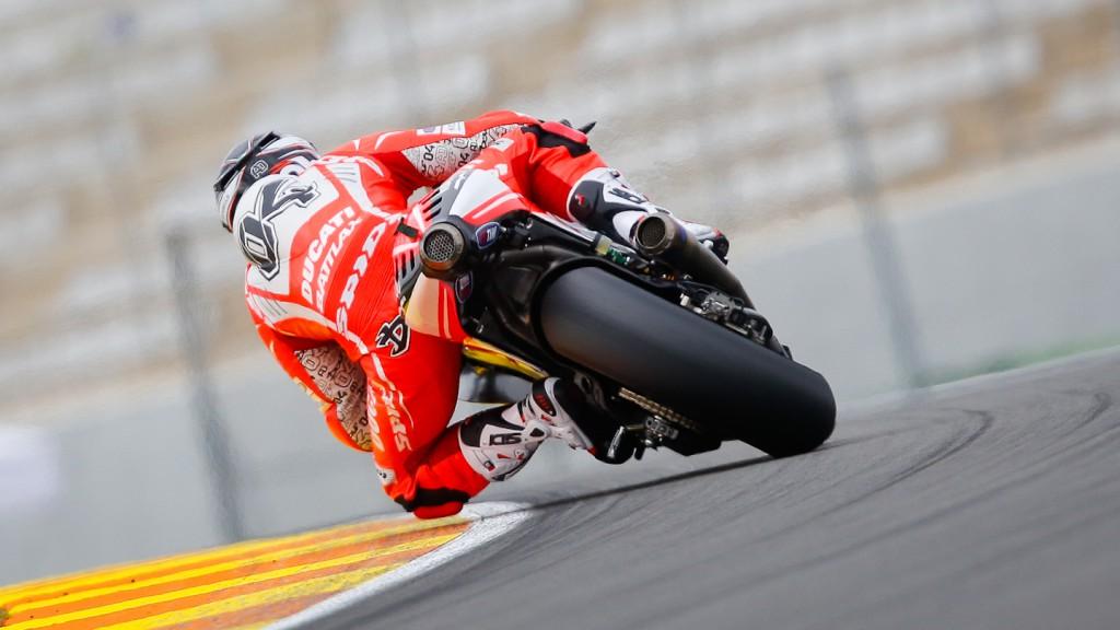 Andrea Dovizioso, DucatiTeam, MotoGP Valencia Test