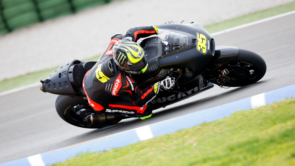 Cal Crutchlow, Ducati Team, MotoGP Valencia Test