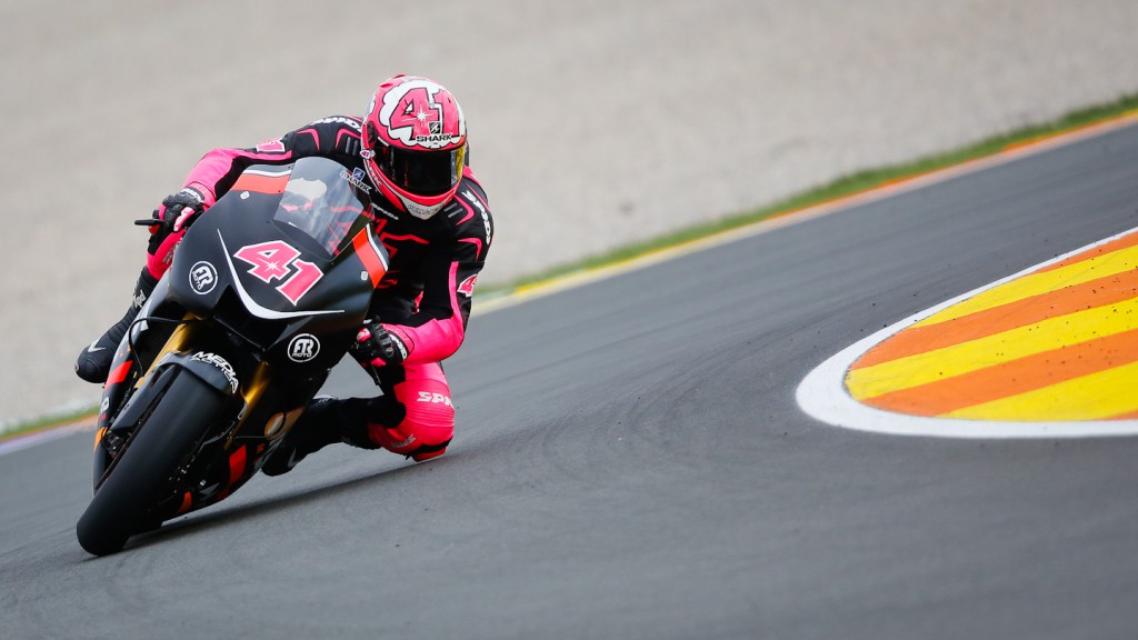 Aleix Espargaro, NGM Mobile Forward Racing, MotoGP Valencia Test