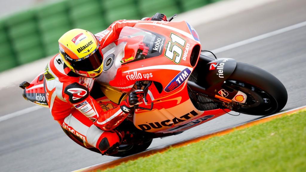 Michele Pirro, Ducati Test, MotoGP Valencia Test