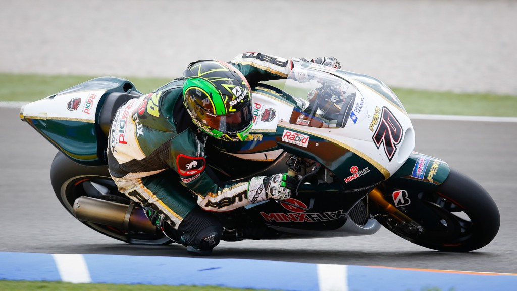 Michael Laverty, Paul Bird Motorsport, MotoGP Valencia Test
