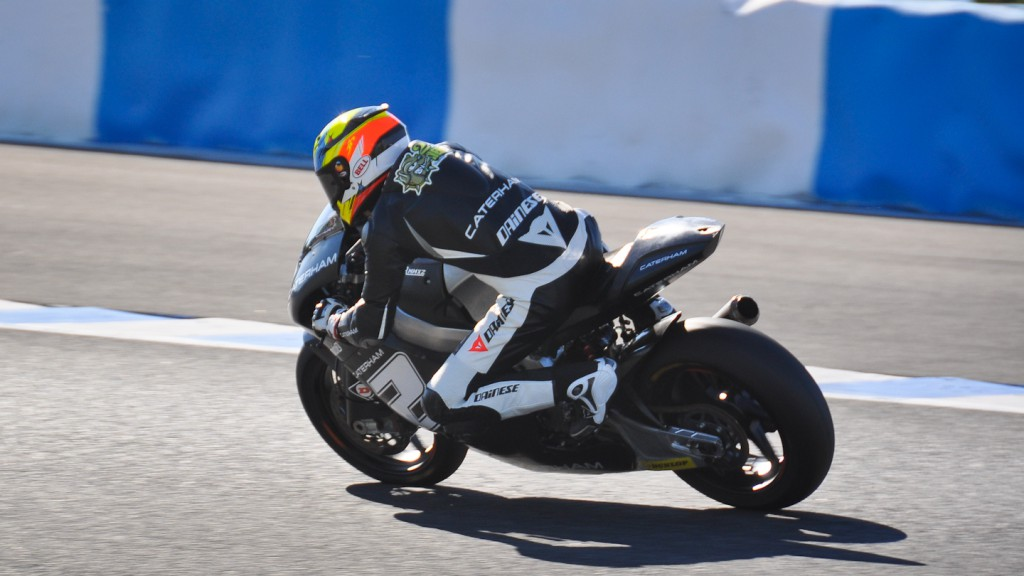 Josh Herrin, Caterham Moto Racing, Jerez Test