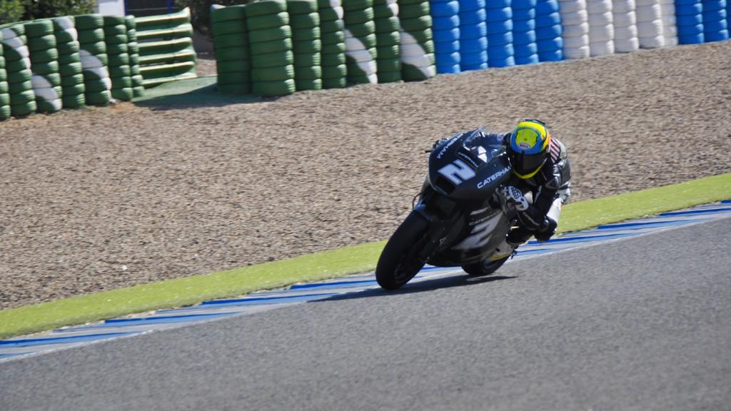 Josh Herrin, Caterham Moto Racing, Jerez Test