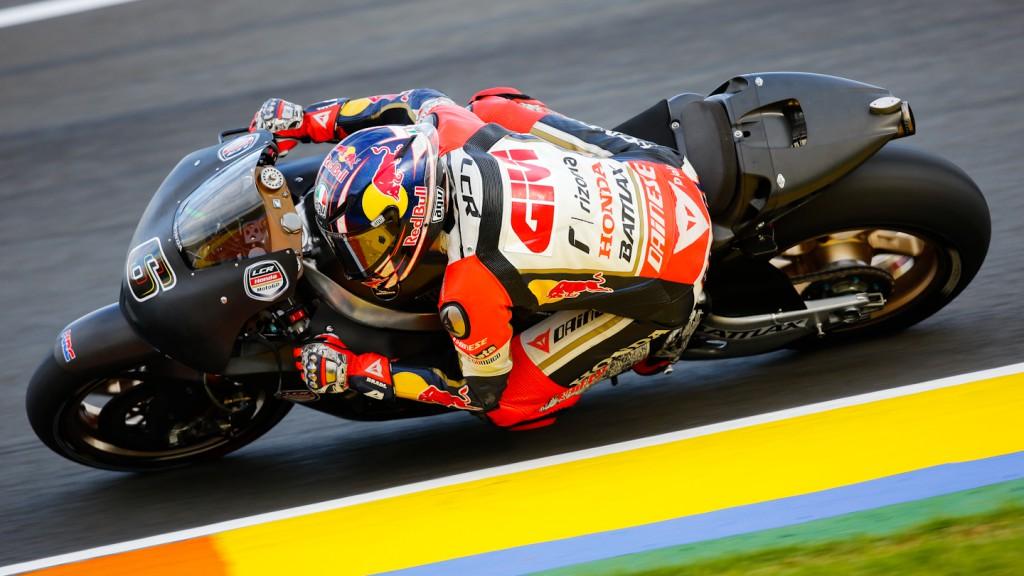 Stefan Bradl, LCR Honda MotoGP, MotoGP Valencia Test