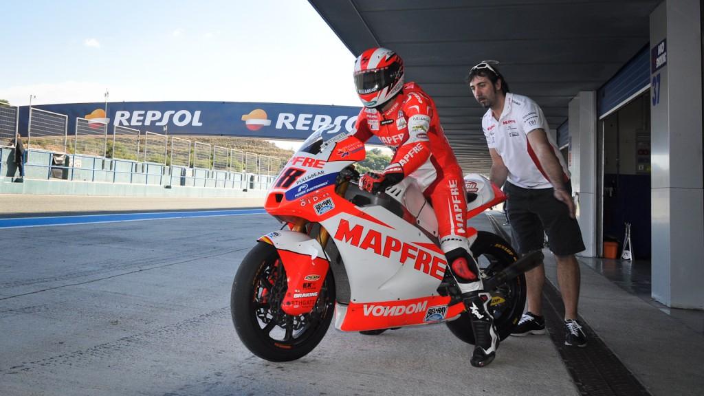 Nico Terol, Aspar Team, Jerez Test
