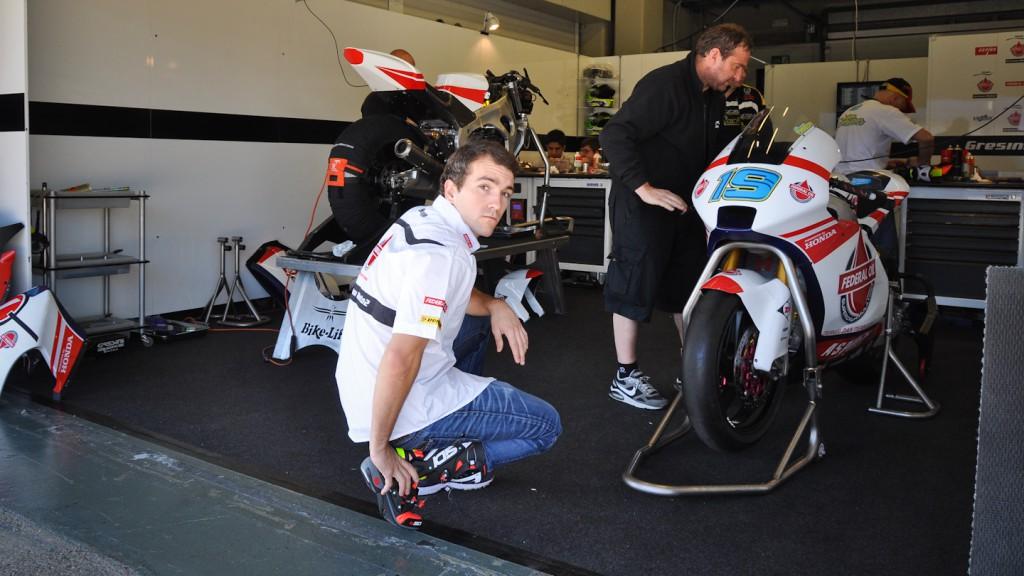 Xavier Simeon, Gresini Racing, Jerez Test