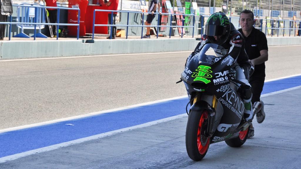 Sam Lowes, Speed Up, Jerez Test