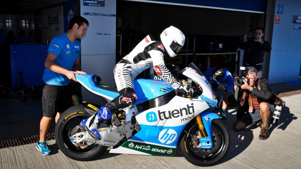 Maverick Viñales, Tuenti HP 40, Jerez Test