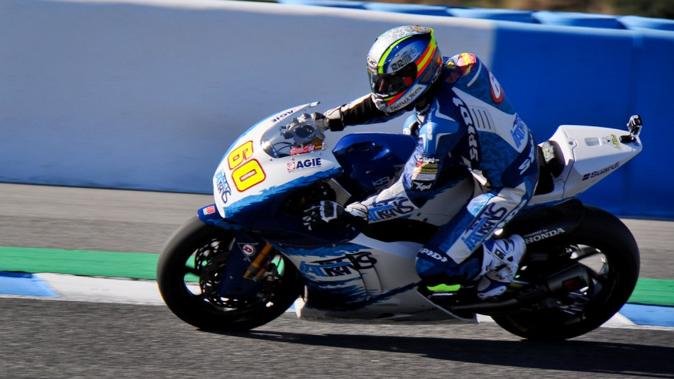 motogp.com · Julian Simon, Italtrans, Jerez Test
