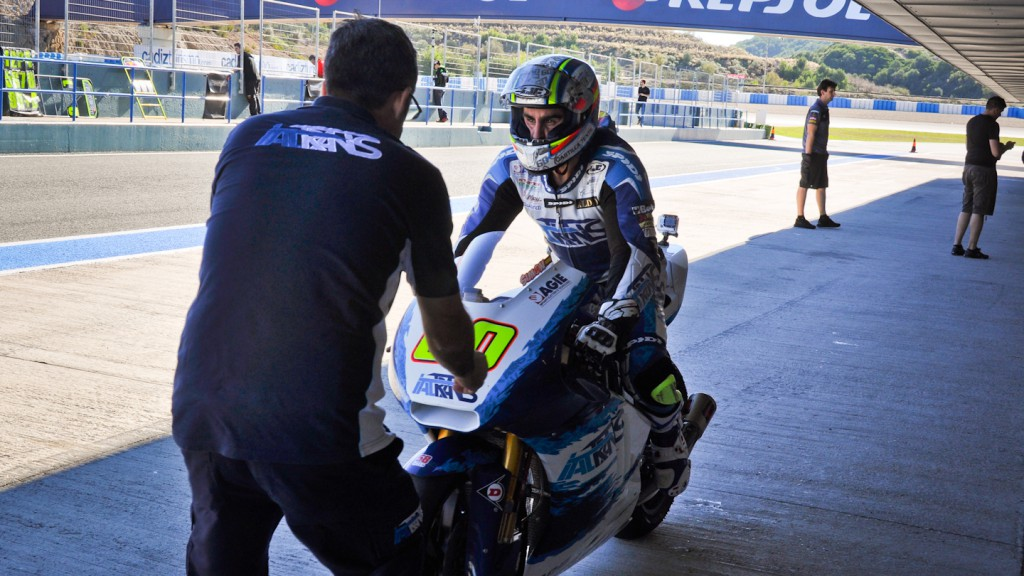 Julian Simon, Italtrans, Jerez Test