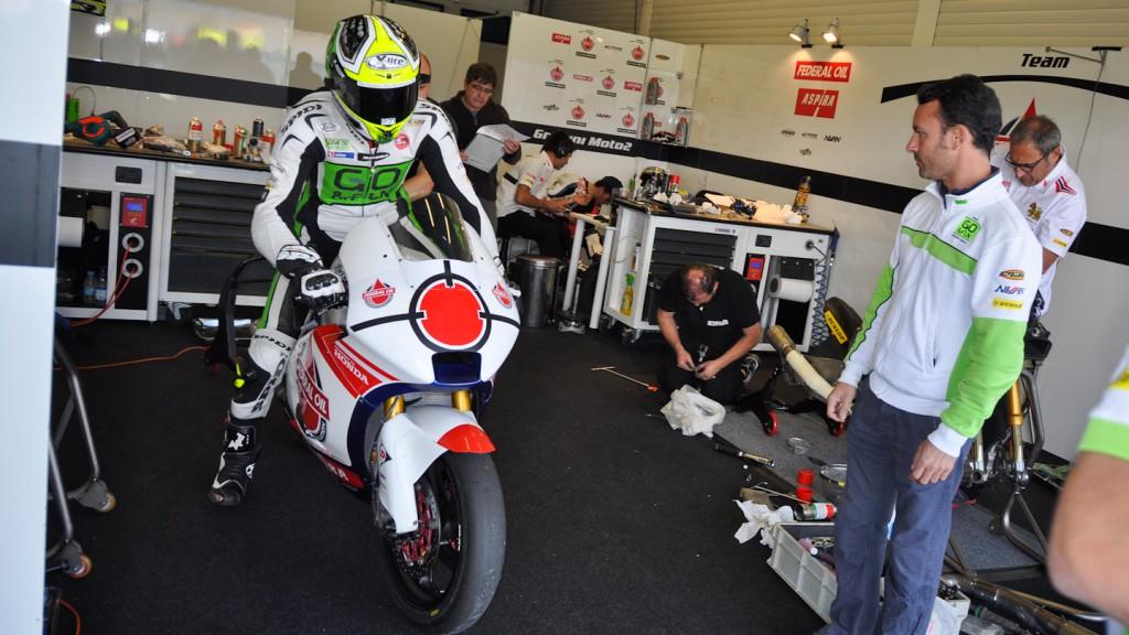 Lorenzo Baldasarri, Gresini Racing, Jerez Test