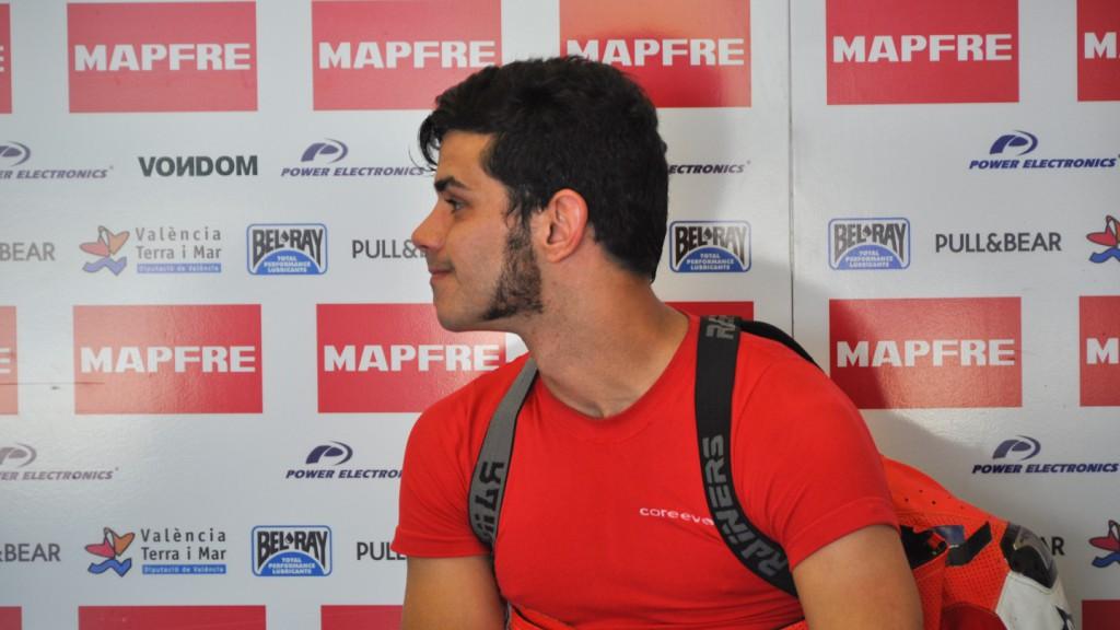 Jordi Torres, Team Aspar, Jerez Test