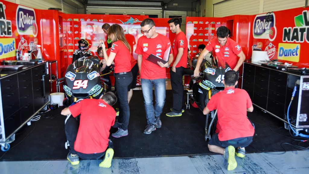AGR Garage, Jerez Test