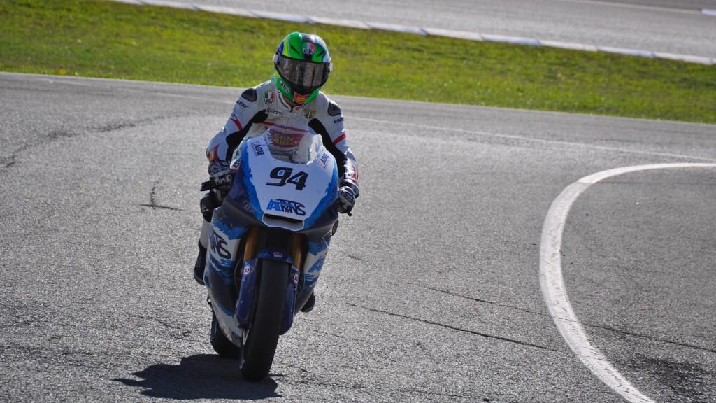 Franco Morbidelli, Italtrans, Jerez Test