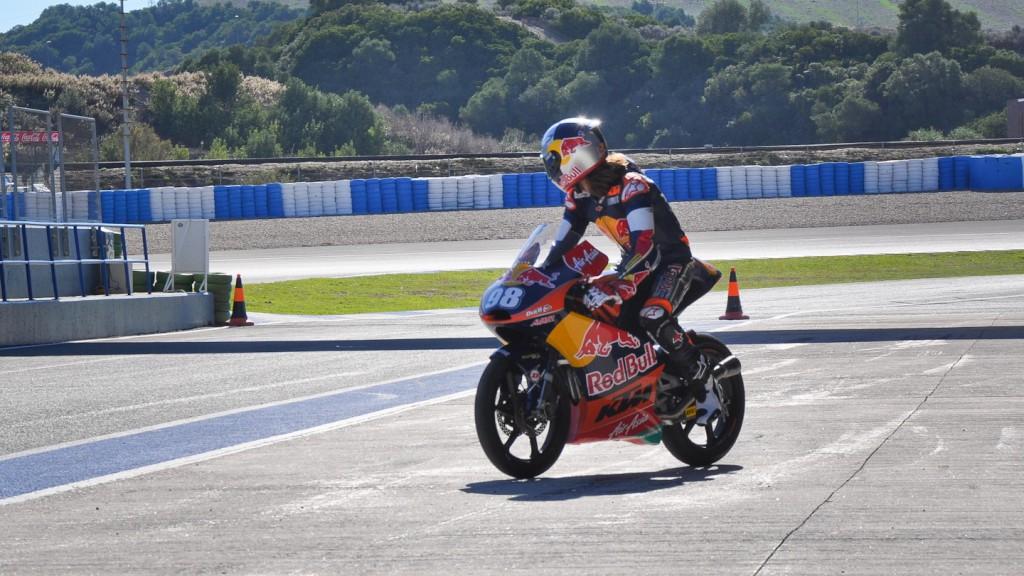 Karel Hanika, Ajo Motorsport, Jerez Test