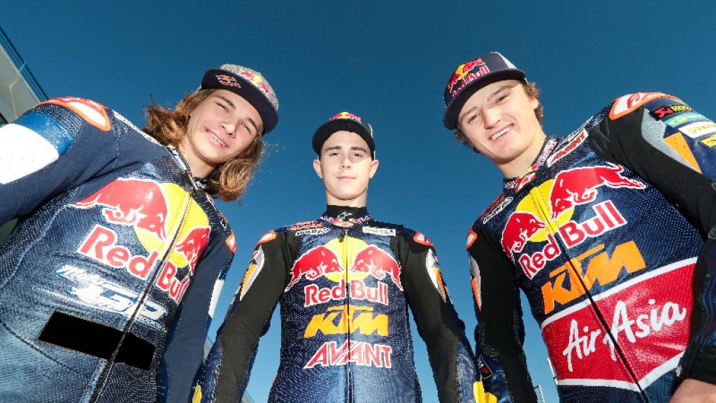Karel Hanika, Danny Kent, Jack Miller, Ajo Motorsport, Jerez Test