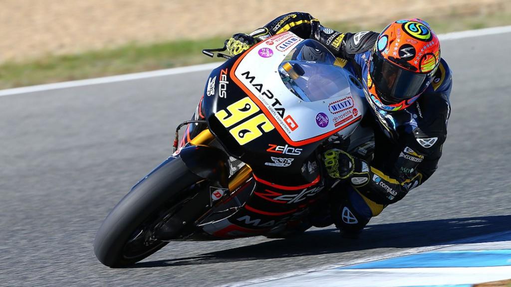 Louis Rossi, Maptaq SAG Zelos Team, Jerez Test