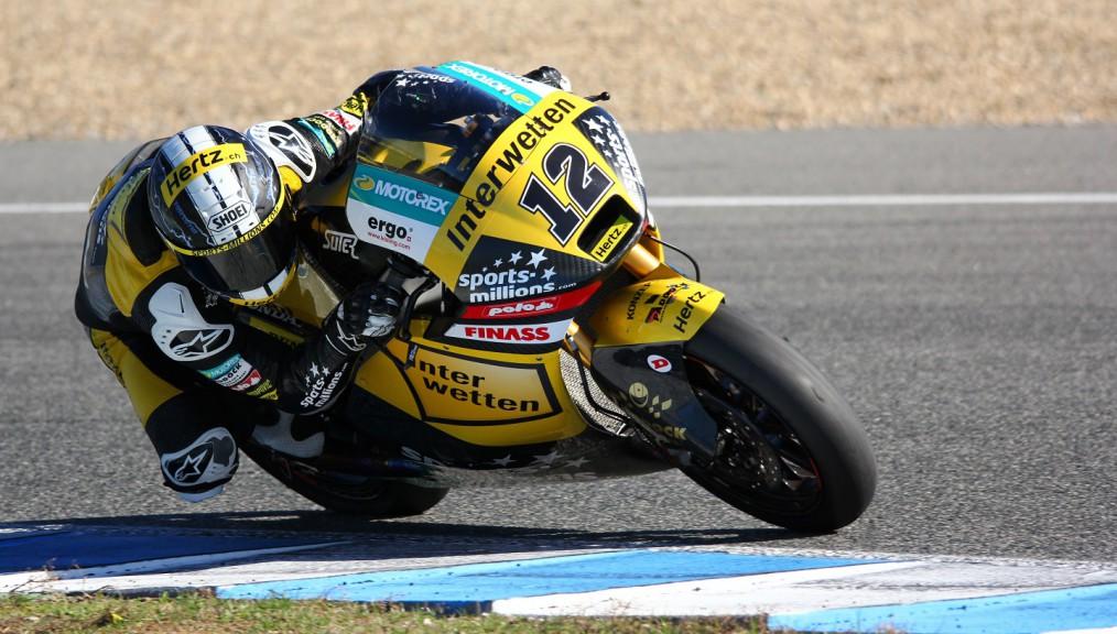 Thomas Luthi, Iterwetten Paddock, Jerez Test
