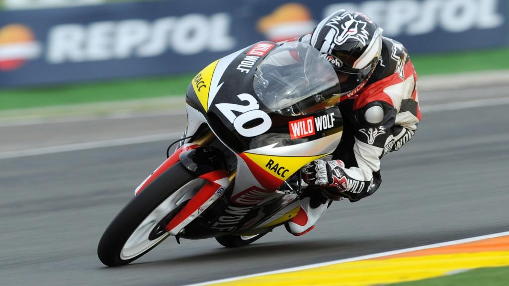 Fabio Quartararo, Wild Wolf Racing, CEV Valencia QP