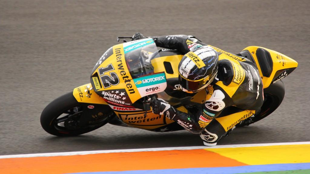 Thomas Luthi, Interwetten Paddock Moto2 Racing, Test Valencia Moto2