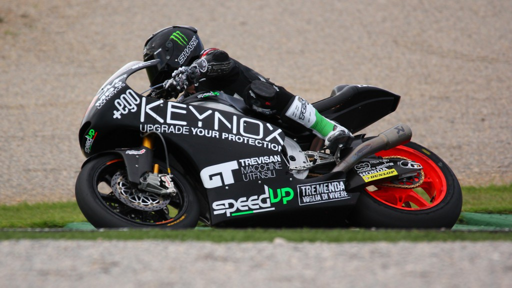 Sam Lowes, Speed Up, Test Valencia Moto2