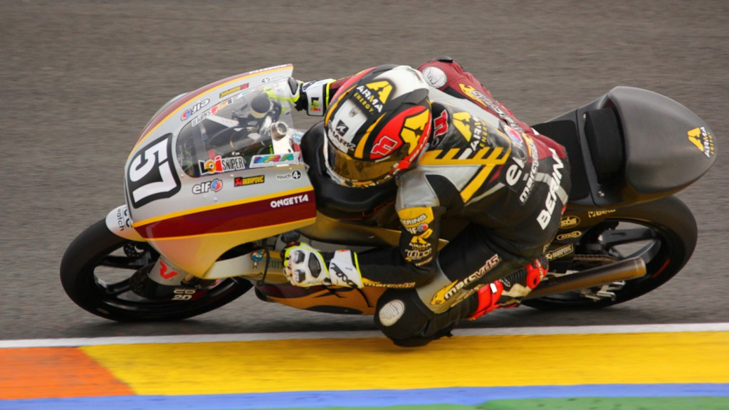 Livio Loi, Marc VDS Racing Team, Test Valencia Moto3