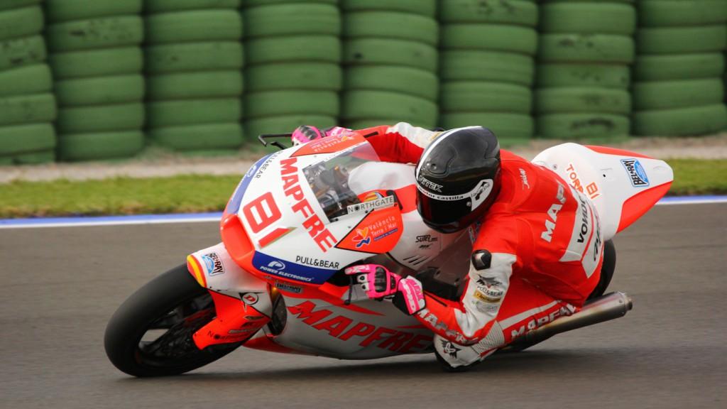 Jordi Torres, Mapfre Aspar Team Moto2, Test Valencia Moto2