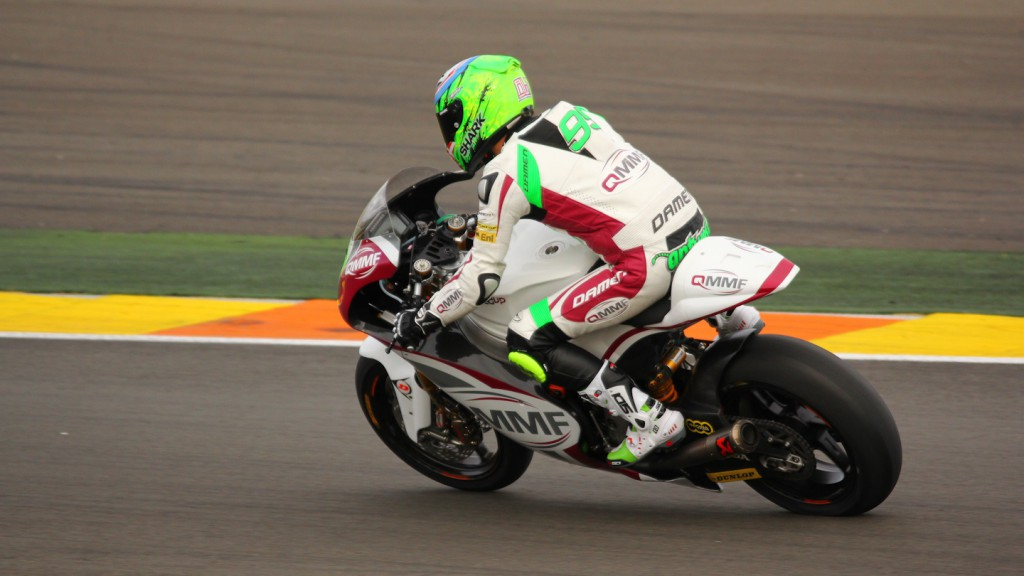 Anthony West, QMMF Racing Team, Test Valencia Moto2