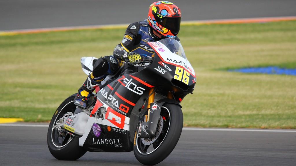 Louis Rossi, Maptaq SAG Zelos Team, Test Valencia Moto2
