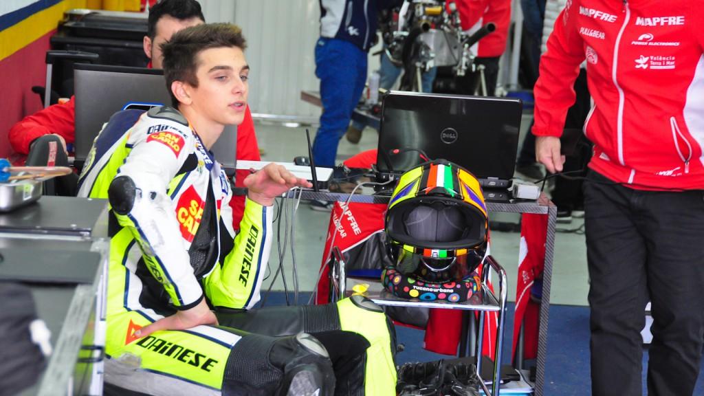 Luca Marini, Mapfre Aspar Team Moto3, Test Valencia Moto3